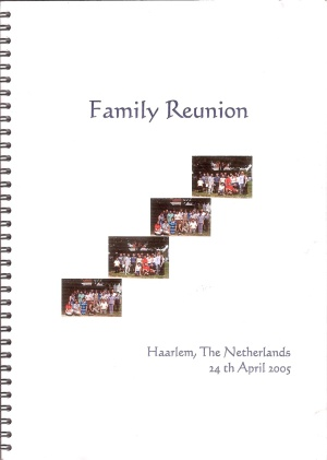 2005 family book with family tree, stories about our ancestors & photos. By Lanny Utama et al.